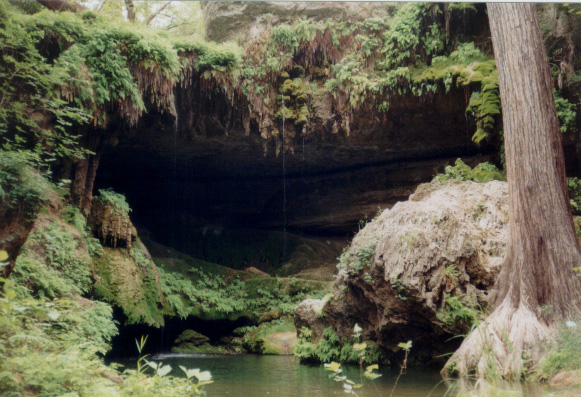 pristine scenery of West Cave
